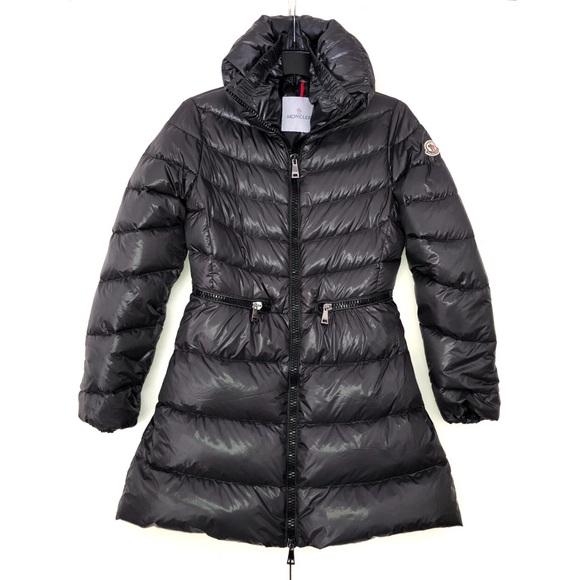 990fa3675 Moncler Down Jacket Zipped Shiny Gray Mirielon S,1